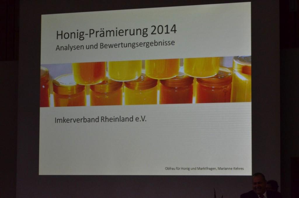 Honigprämierung 2014 - Kopie